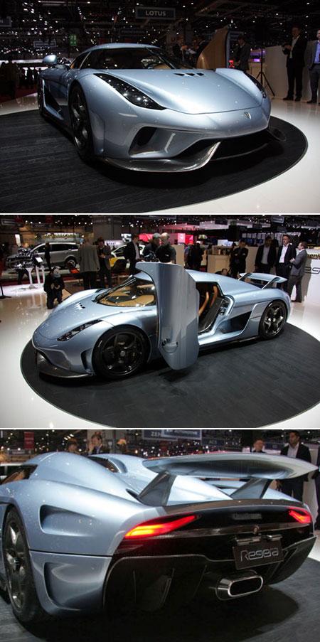 Koenigsegg Regera Packs 1500HP, n'a aucune boîte de vitesse et peut frapper 248 m/h en sous 20 secondes