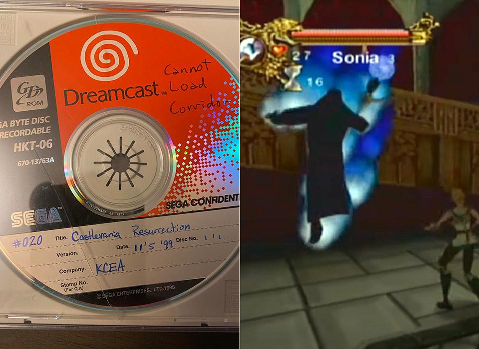 Konami Castlevania SEGA Dreamcast Game