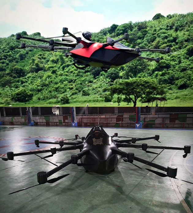 Koncepto Millenya Flying Car