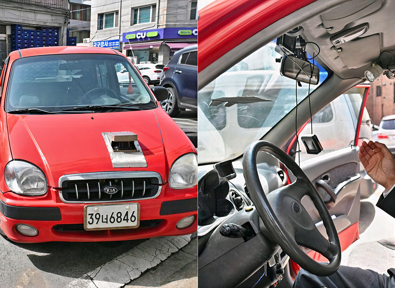 Korea Self-Driving Car 1993