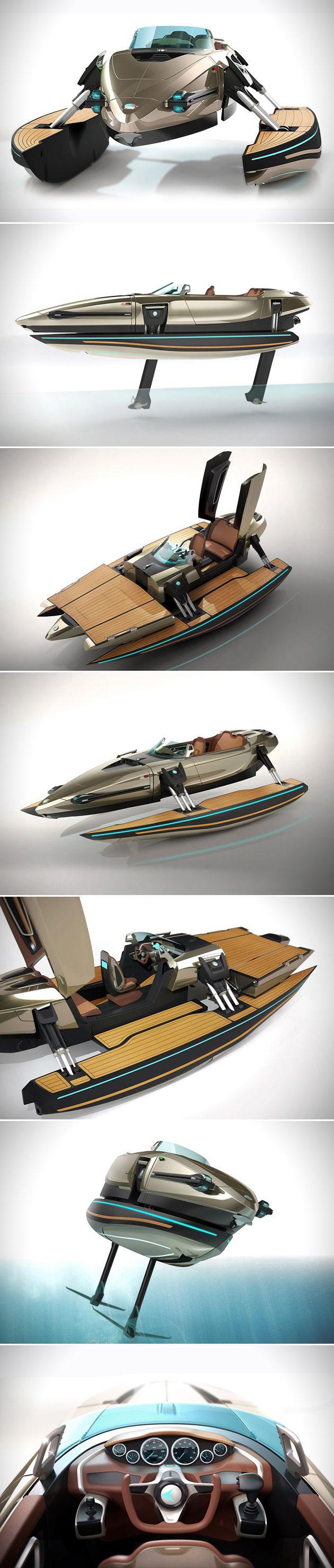 Kormaran Convertible Boat
