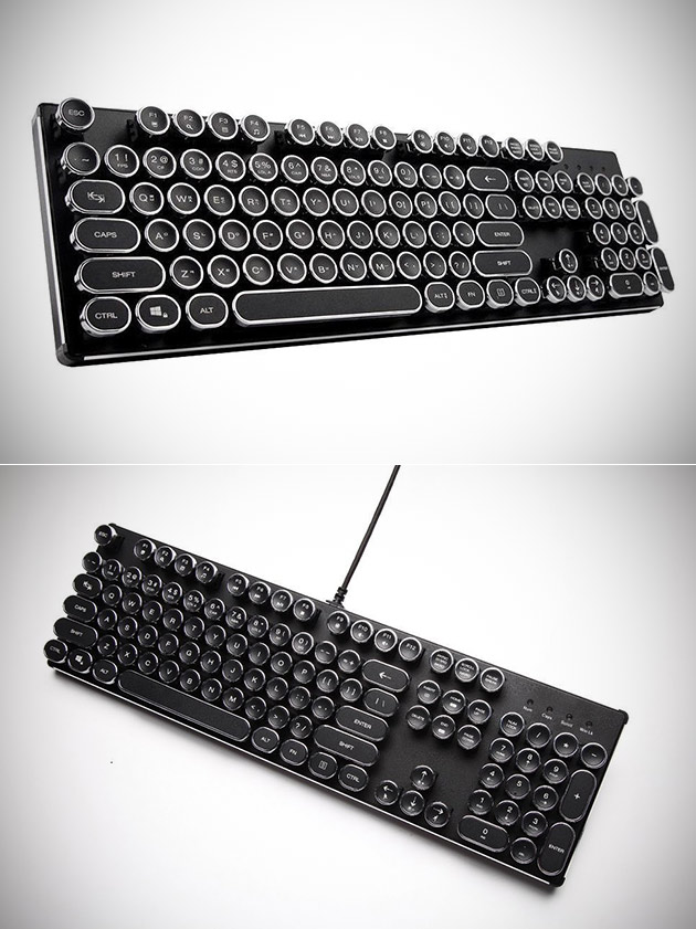 KrBn Steampunk Keyboard