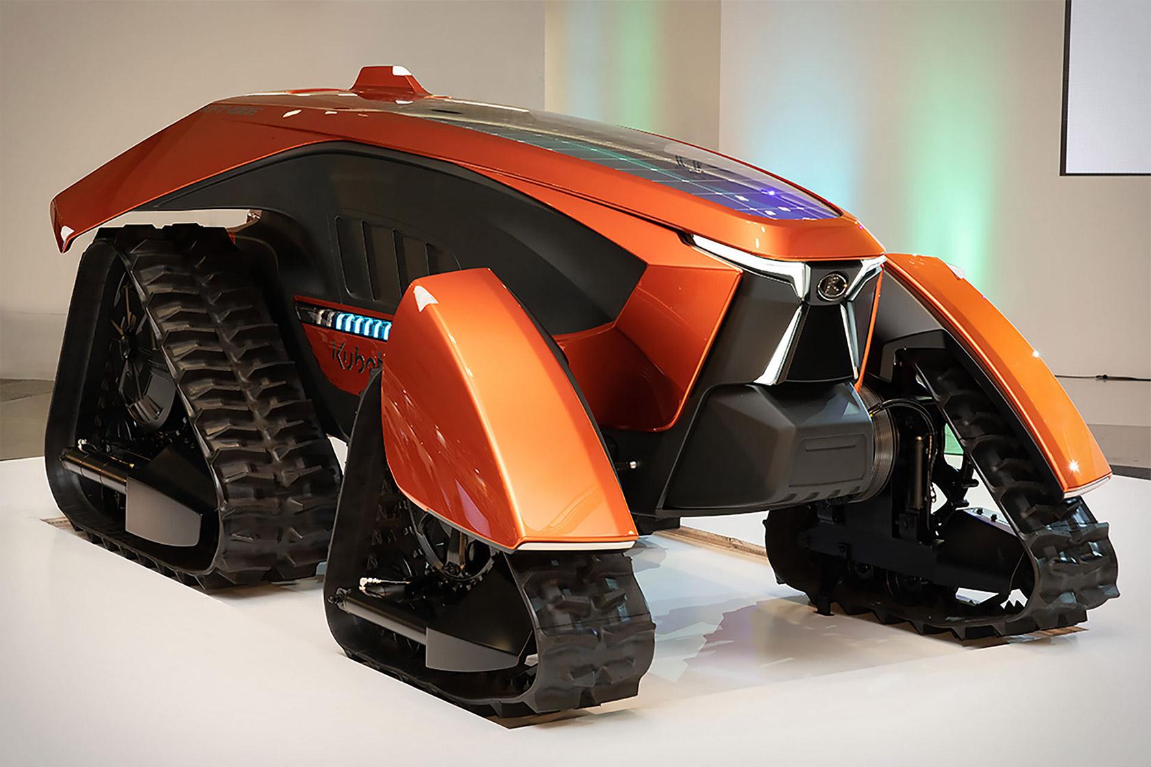 Kubota X Autonomous Tractor