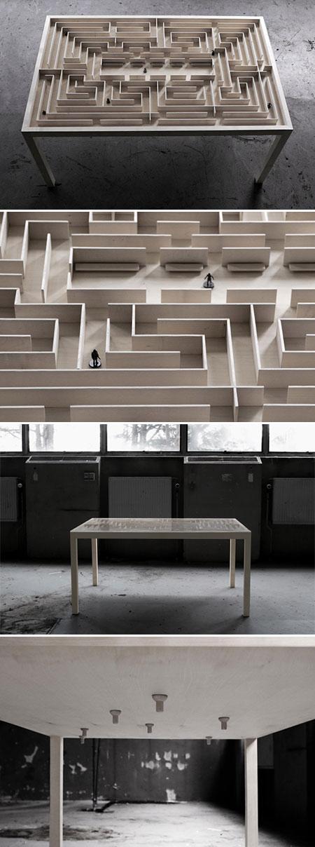 Labyrinth Coffee Table