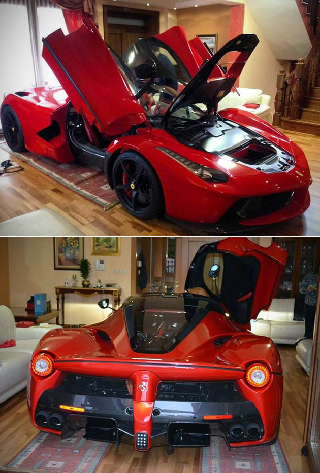 LaFerrari Living Room