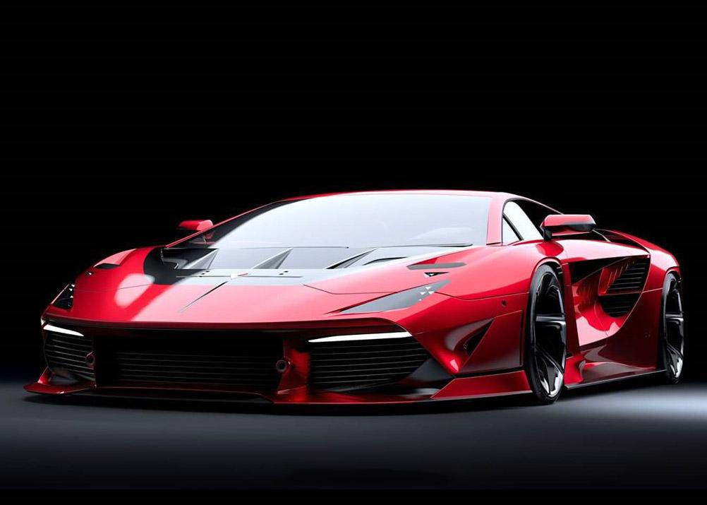 Lamborghini Aventador NEO Vector 2020