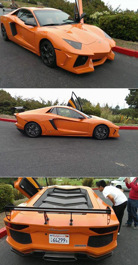 How Not To Build Your Own Lamborghini Aventador