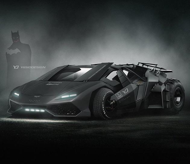 Lamborghini Batman Tumbler