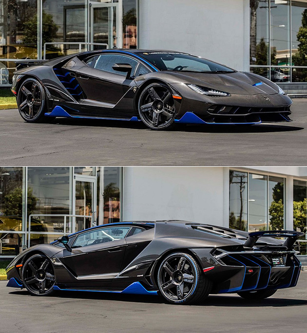First 25 Million Lamborghini Centenario Hits The US This Is How It Sounds