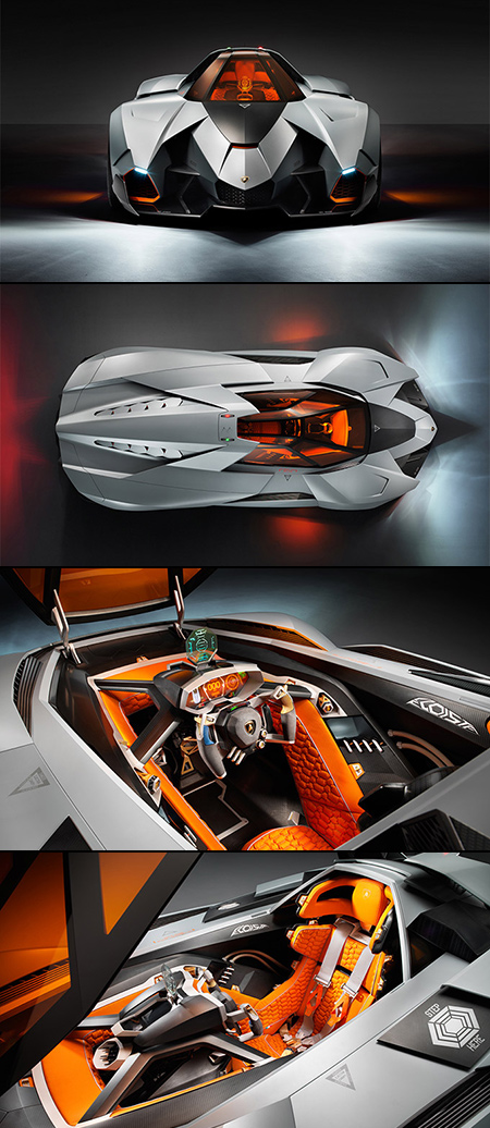 Video Shows Lamborghini Egoista S Fighter Jet Inspired Canopy
