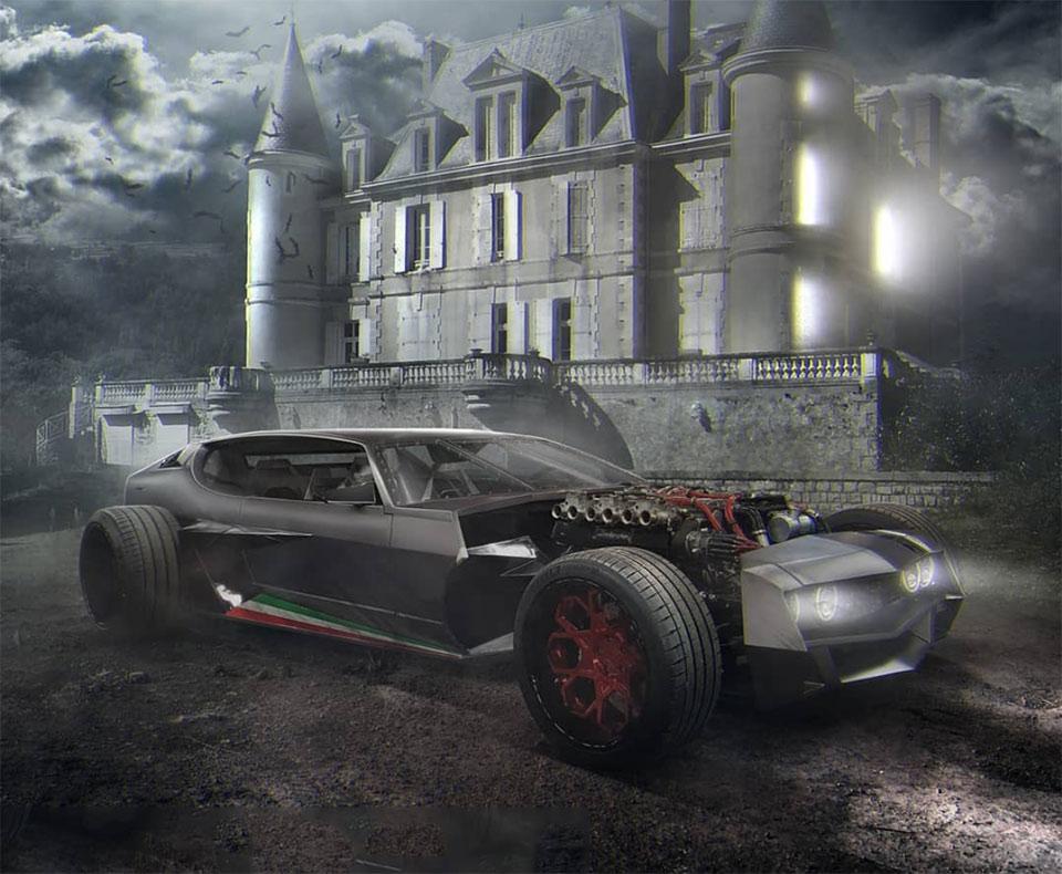 Lamborghini Espada Hot Rod