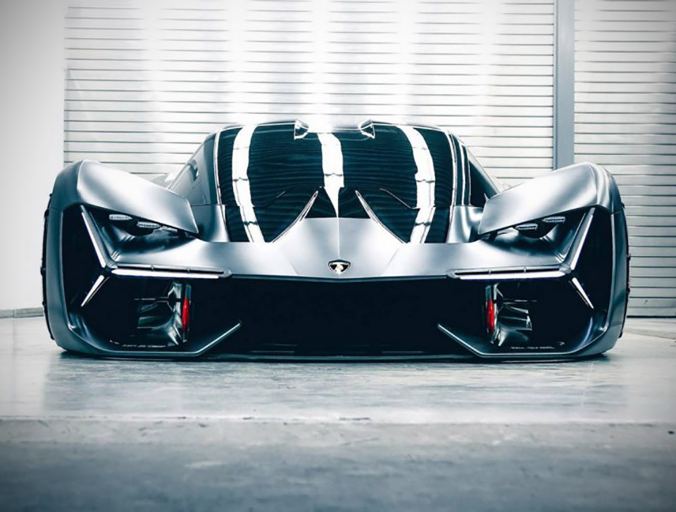 Lamborghini Hybrid Supercar Hypercar Frankfurt Motor Show