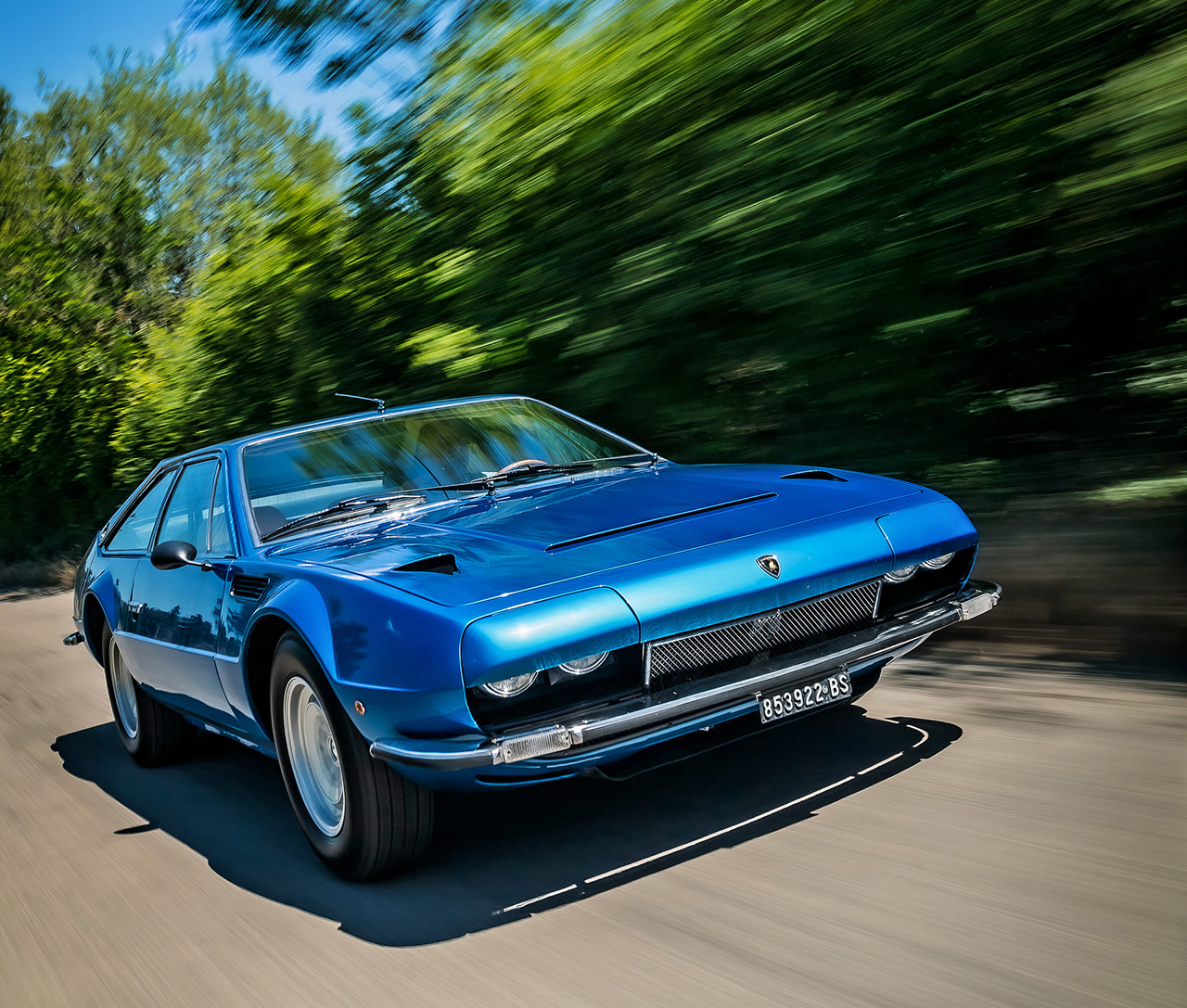 Up-Close Look At The Lamborghini Jarama, The Company's