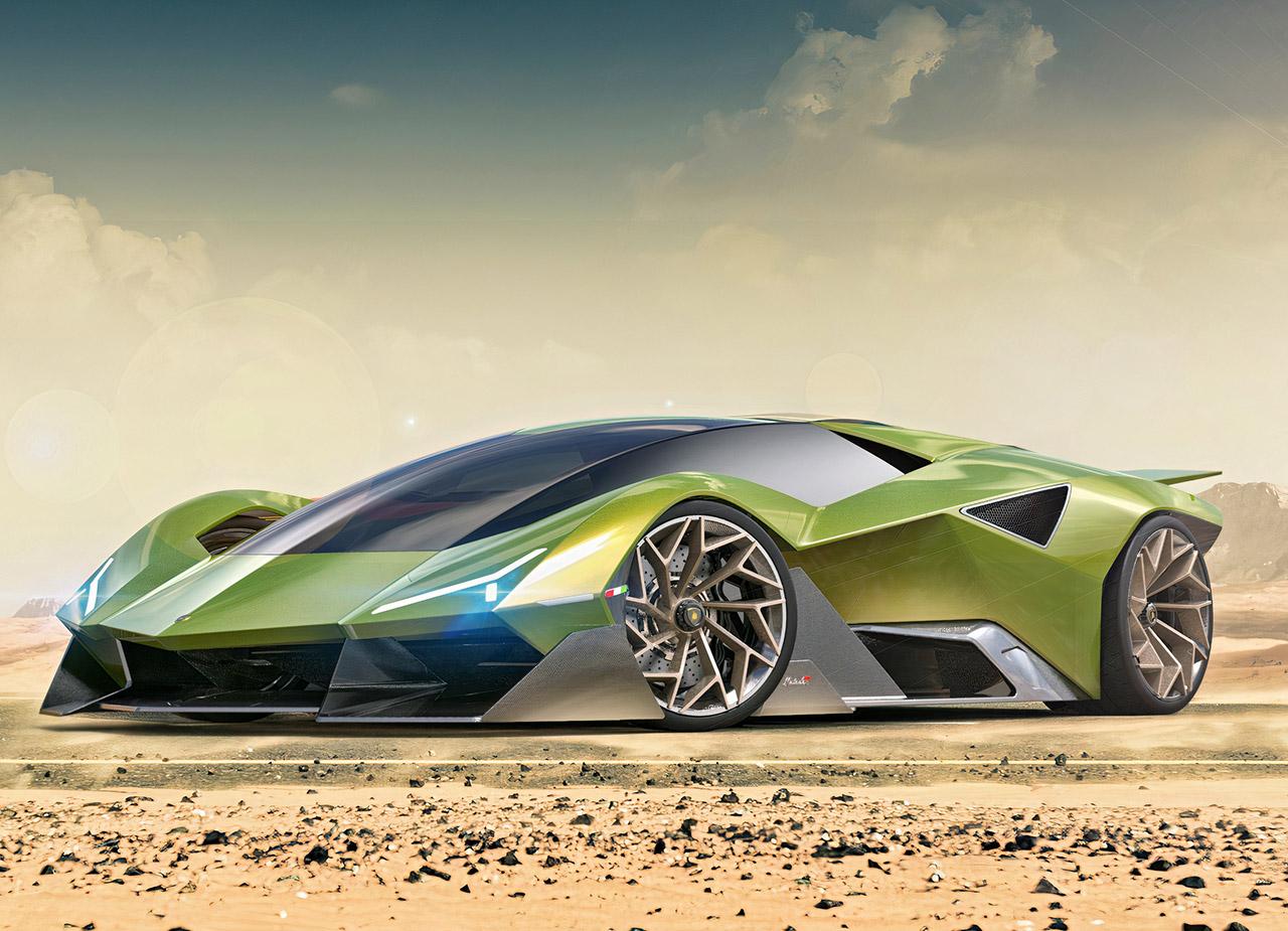 Lamborghini Matador Hypercar Concept