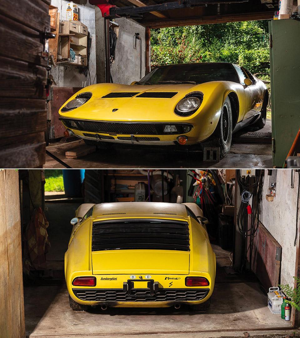 Lamborghini Miura Barn Find