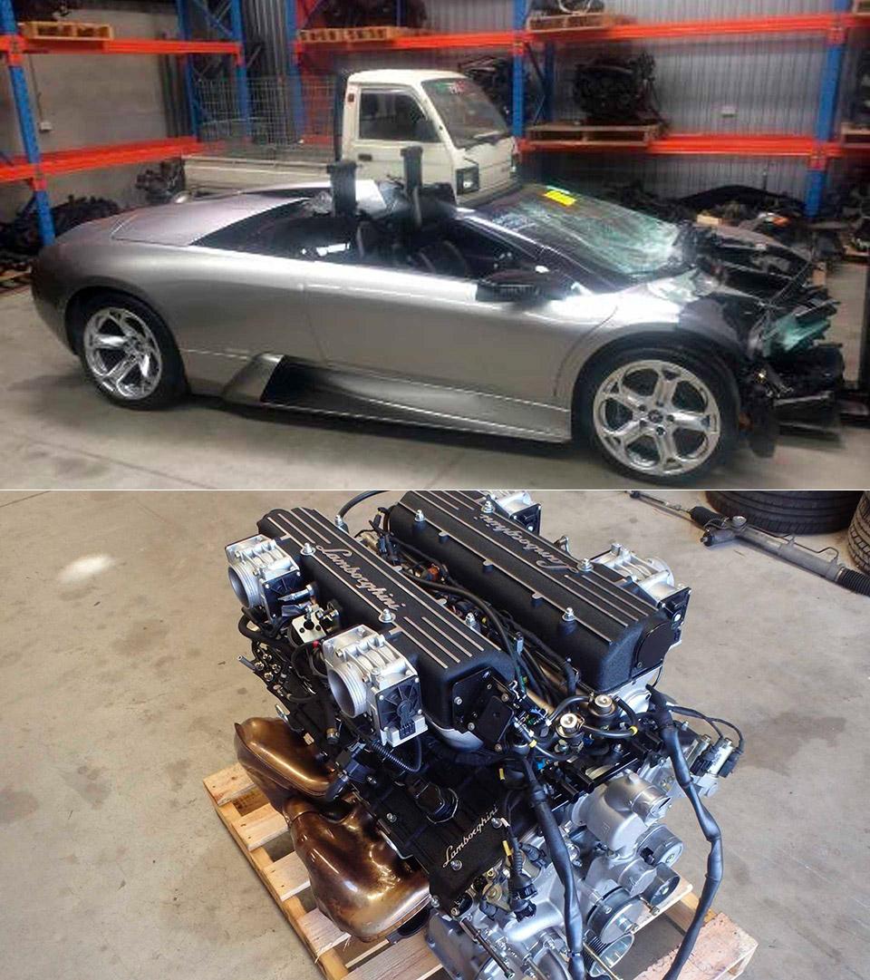 Lamborghini Murcielago V12 Engine