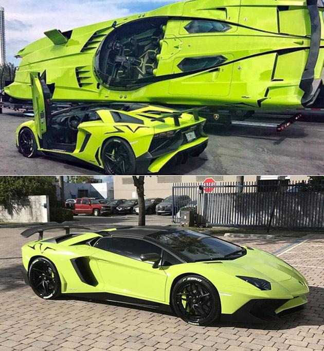 Lamborghini SV Speedboat