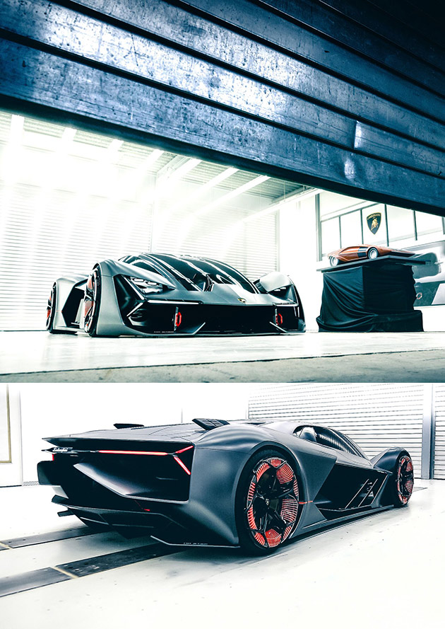 lamborghini terzo millennio is an electric hypercar developed with mit techeblog. Black Bedroom Furniture Sets. Home Design Ideas