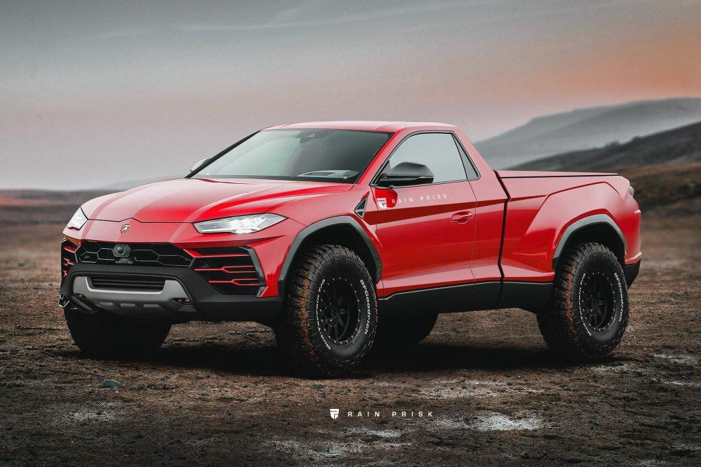 Lamborghini Urus Pickup Truck