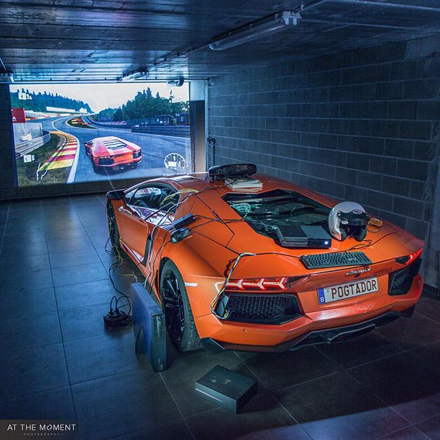 Lamborghini Xbox Sim