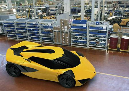 Lamborghini Minotauro The Worlds First Electric