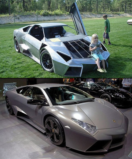 Amazing Lamborghini Reventon Replica Based On The Pontiac Fiero