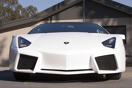This Is Not A Lamborghini Reventon Just A Highly Modified Nissan