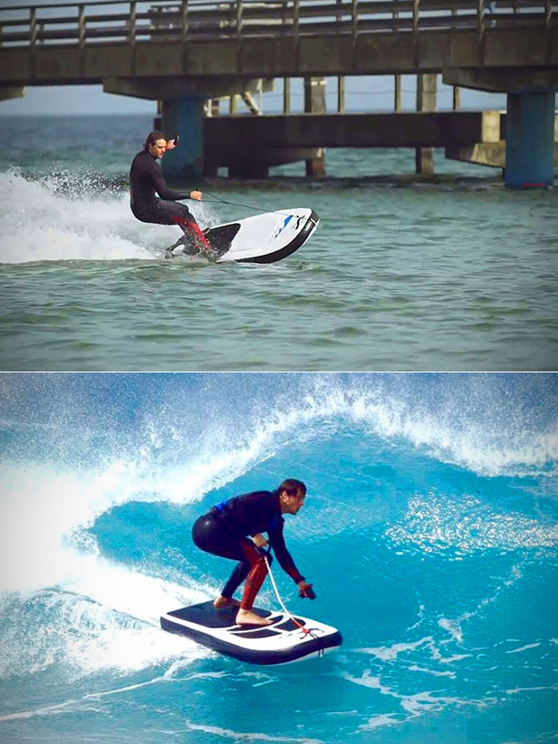 Lampuga Jet Surfboard