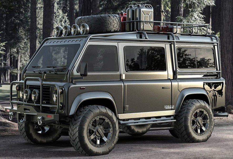Land Rover Defender Adventure Van