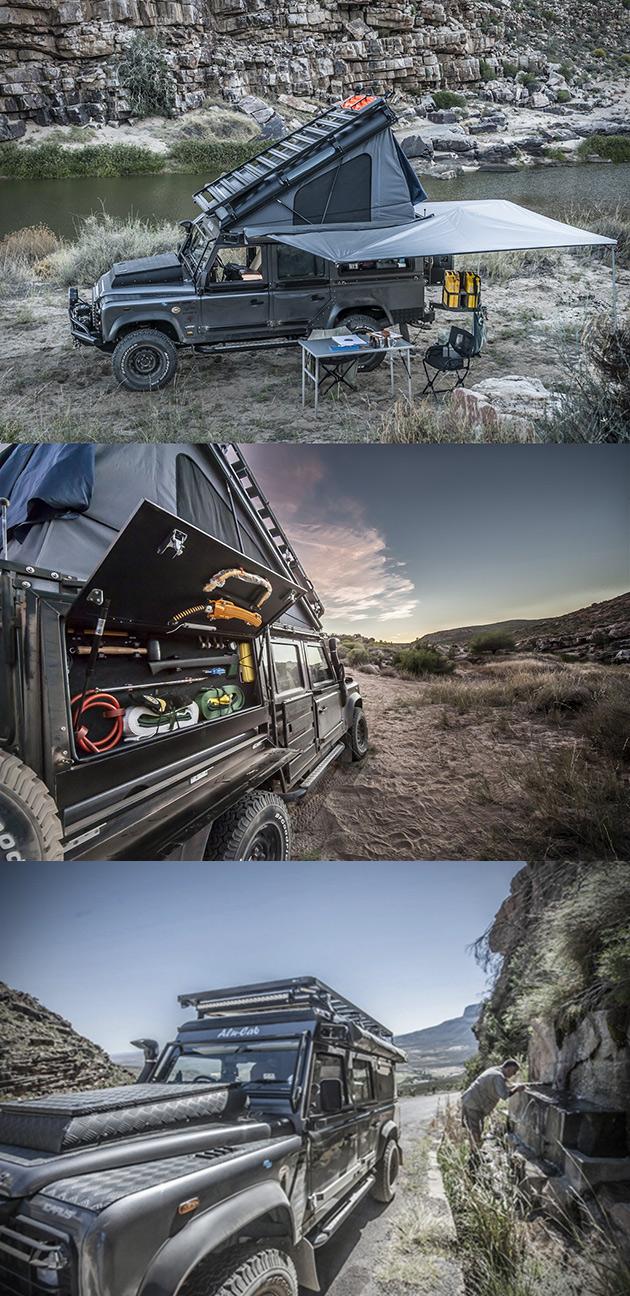 Land Rover Defender Camper
