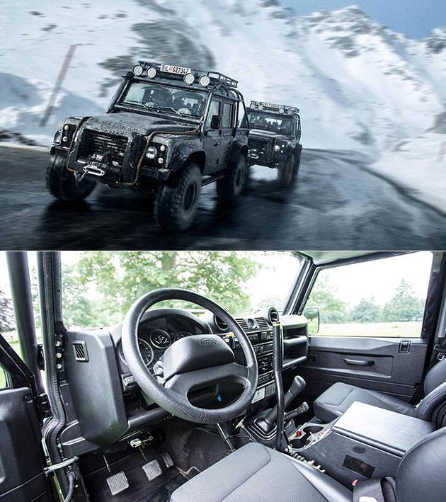 Land Rover Defender James Bond Spectre
