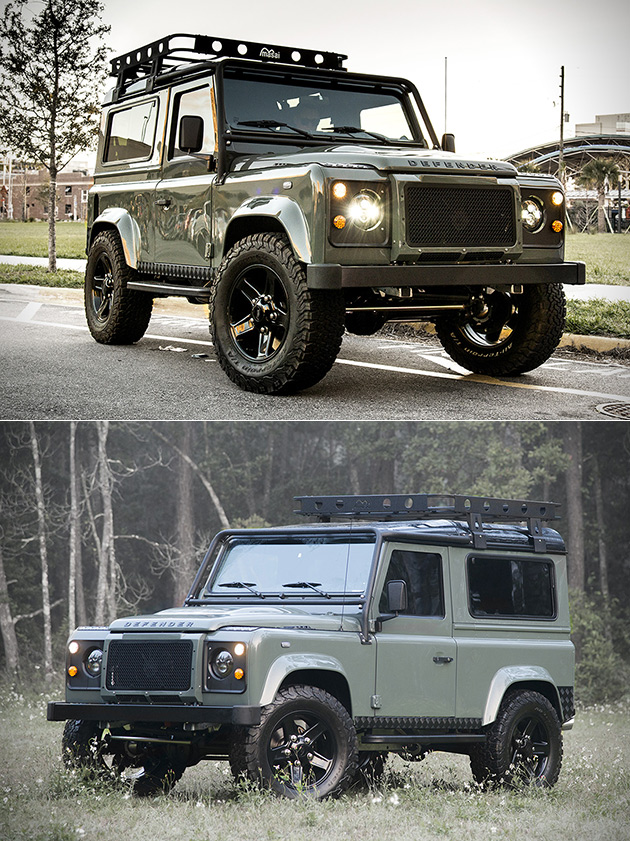 Land Rover Defender Project 13