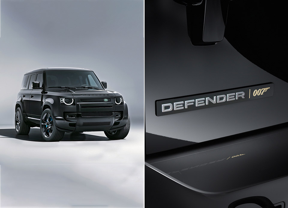 Land Rover Defender V8 Bond Edition No Time to Die