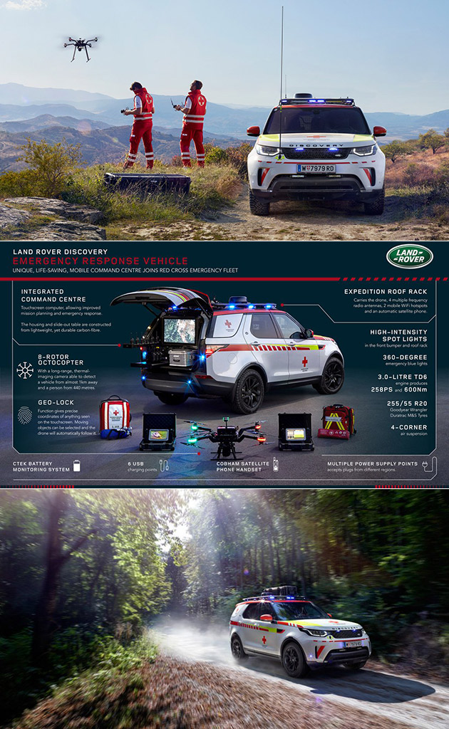 Land Rover Discovery Emergency Response Vehicle