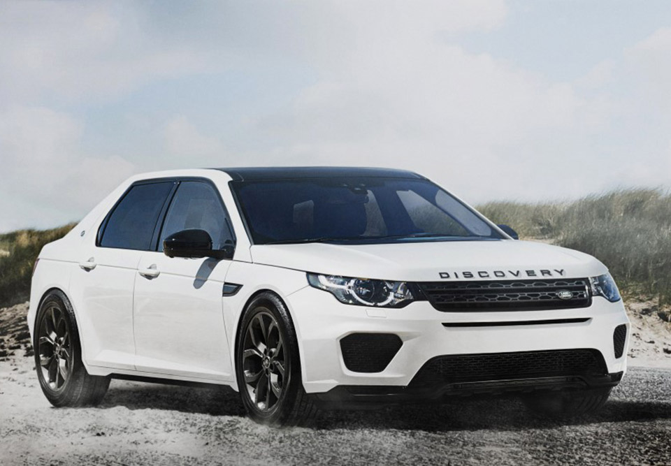 Land Rover Discovery SUV Sedan