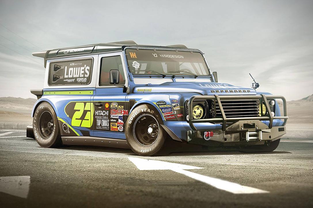 Land Rover NASCAR