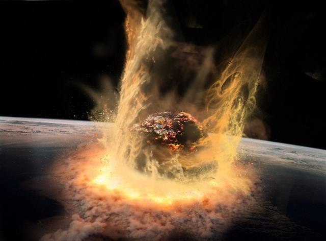 Large Asteroid Impact