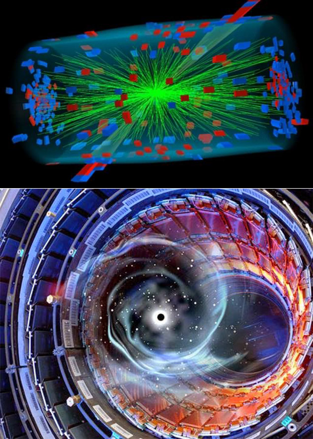Large Hadron Collider Record