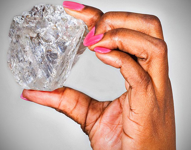 Largest Diamond Botswana