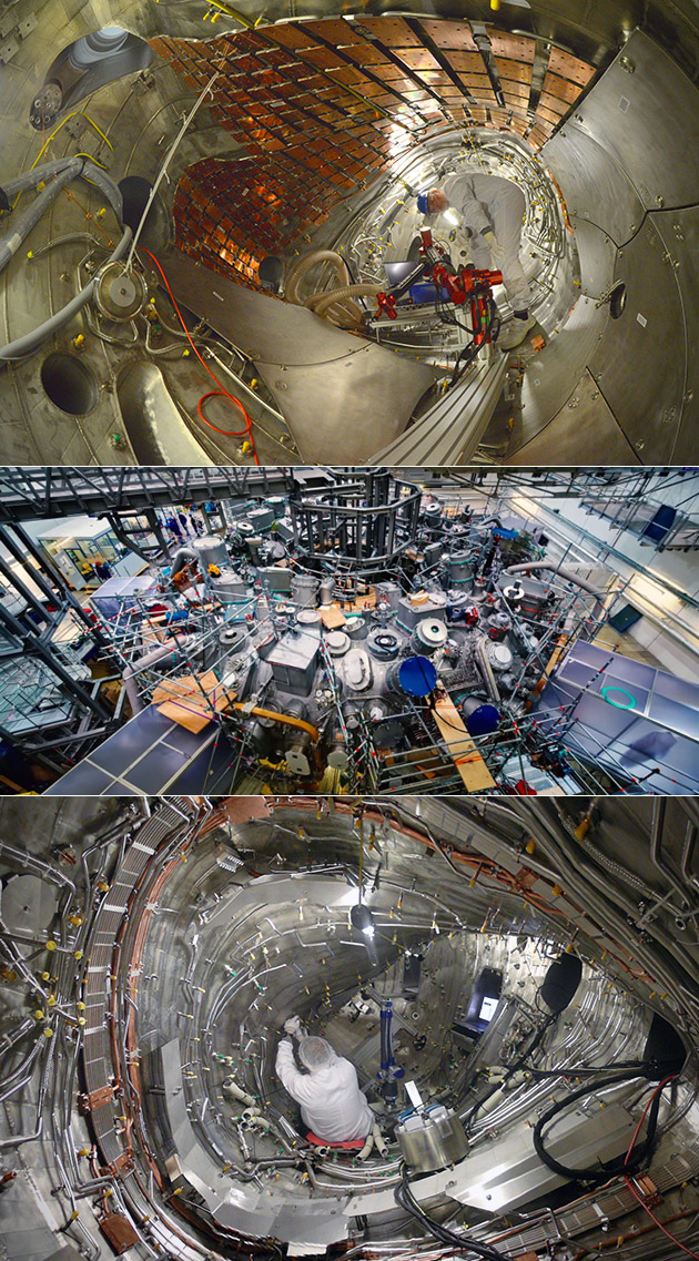 Largest Fusion Reactor