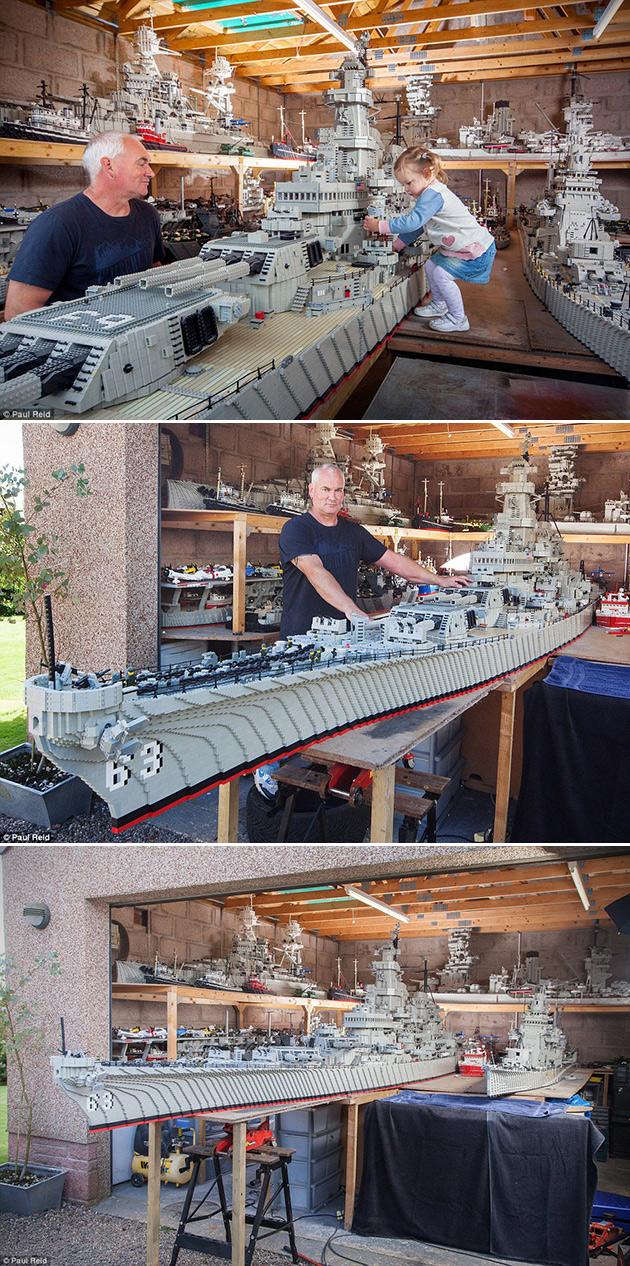 Largest LEGO Warship