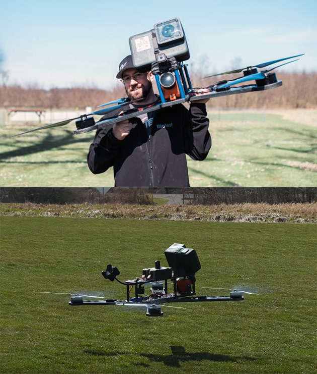 Largest Racing Drone