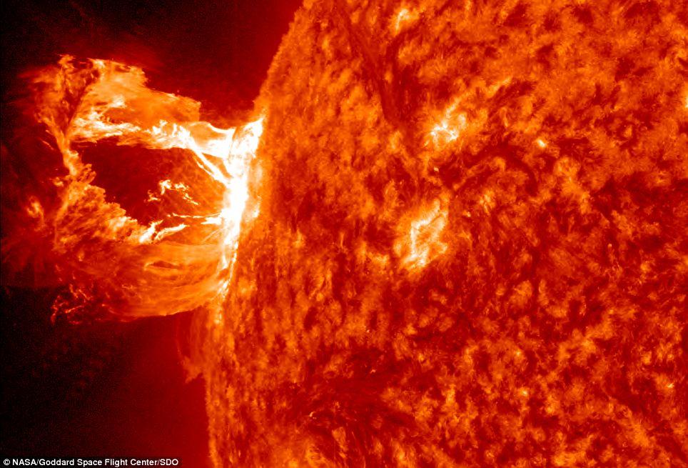 Largest Solar Flare 2014
