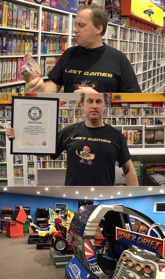 Largest Video Game Collection