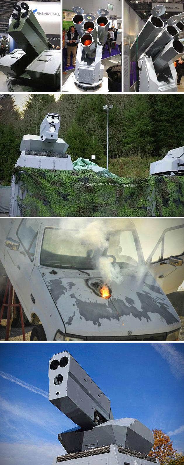Laser Gatling Gun