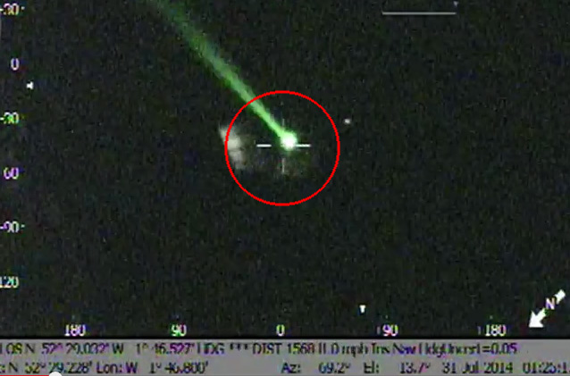 Laser Pointer Helicopter