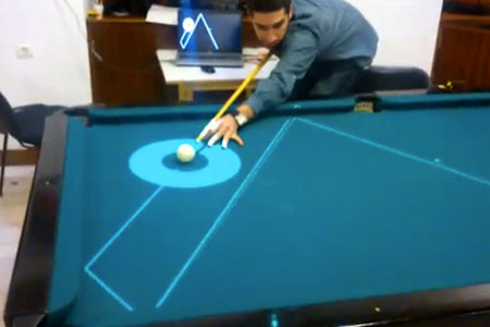 High Tech Pool Table Uses Frickinu0027 Laser Beams To Make Anyone A Pro