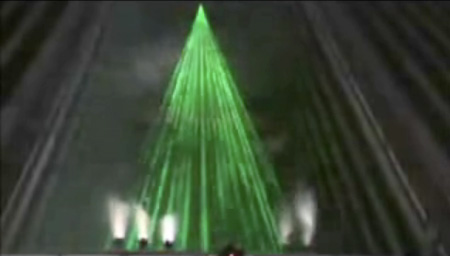 Feature Engineers Use Lasers to Create Christmas Tree TechEBlog
