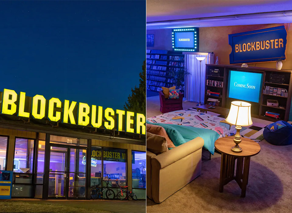 Last Blockbuster Video Airbnb