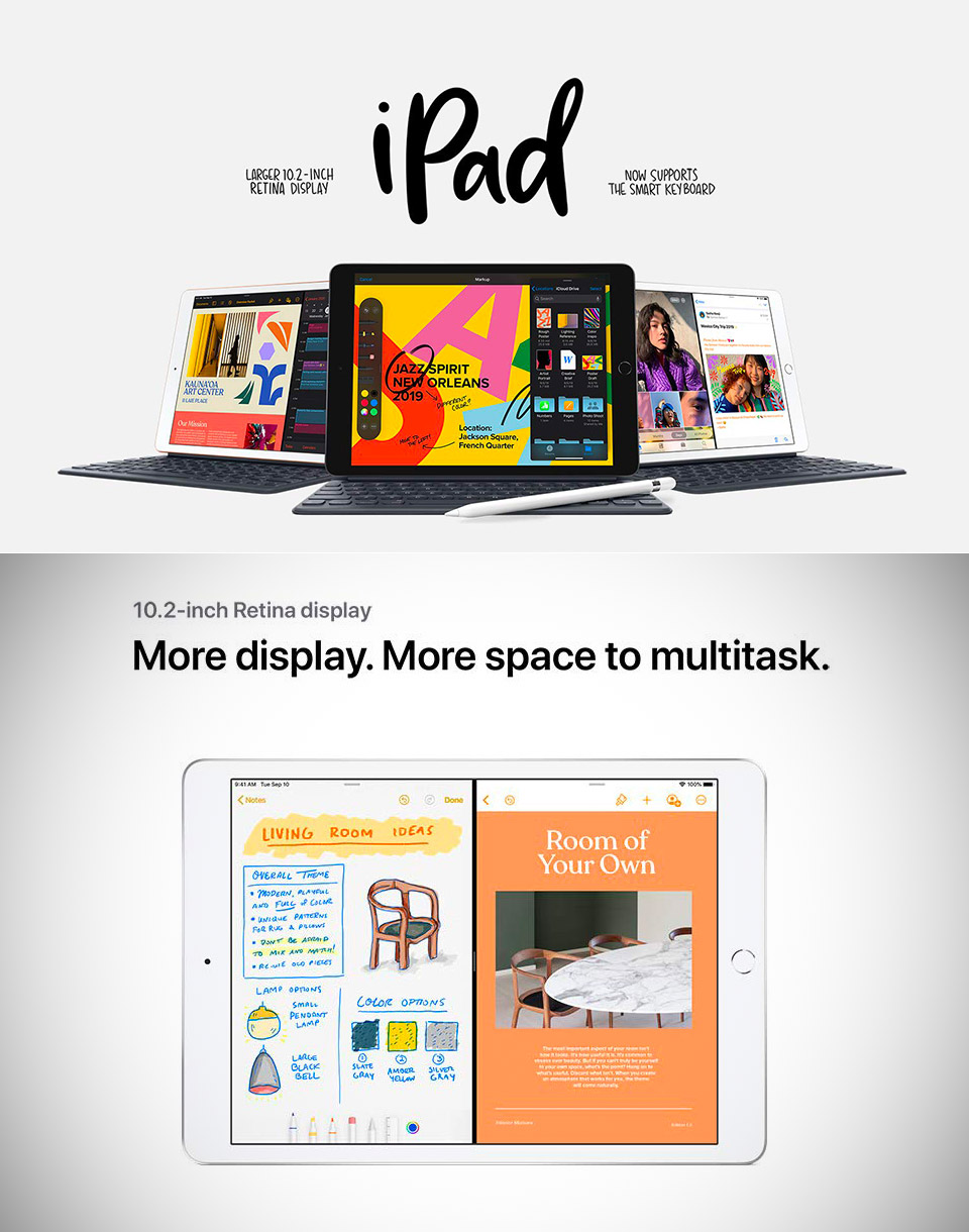 Latest Apple iPad 10-inch